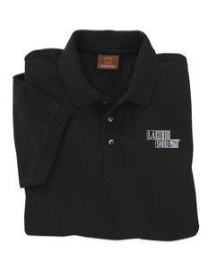 LA Auto Show Store - Black Pique Polo Shirt, $35.00 (http://www.laautoshowstore.com/black-pique-polo-shirt/)