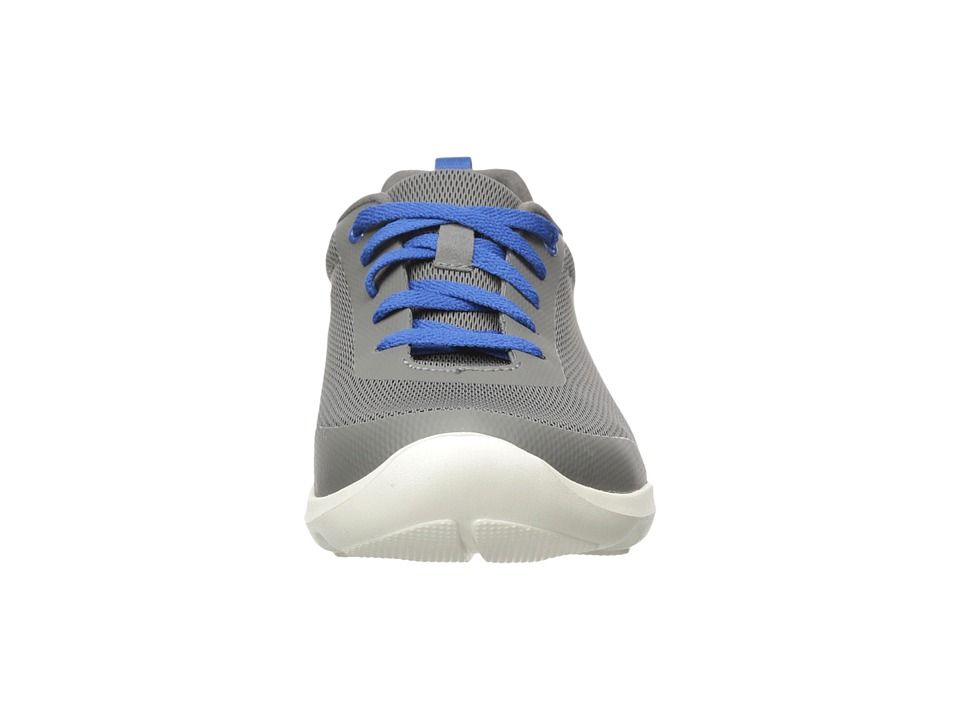 buy popular 1b579 08e2b Crocs Busy Day Stretch Mesh Lace Womens Lace up casual Shoes Slate Grey