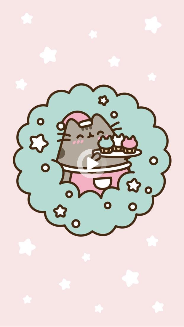 Pusheen Christmas Wallpaper In 2021 Pusheen Cute Pusheen Christmas Pusheen Cat