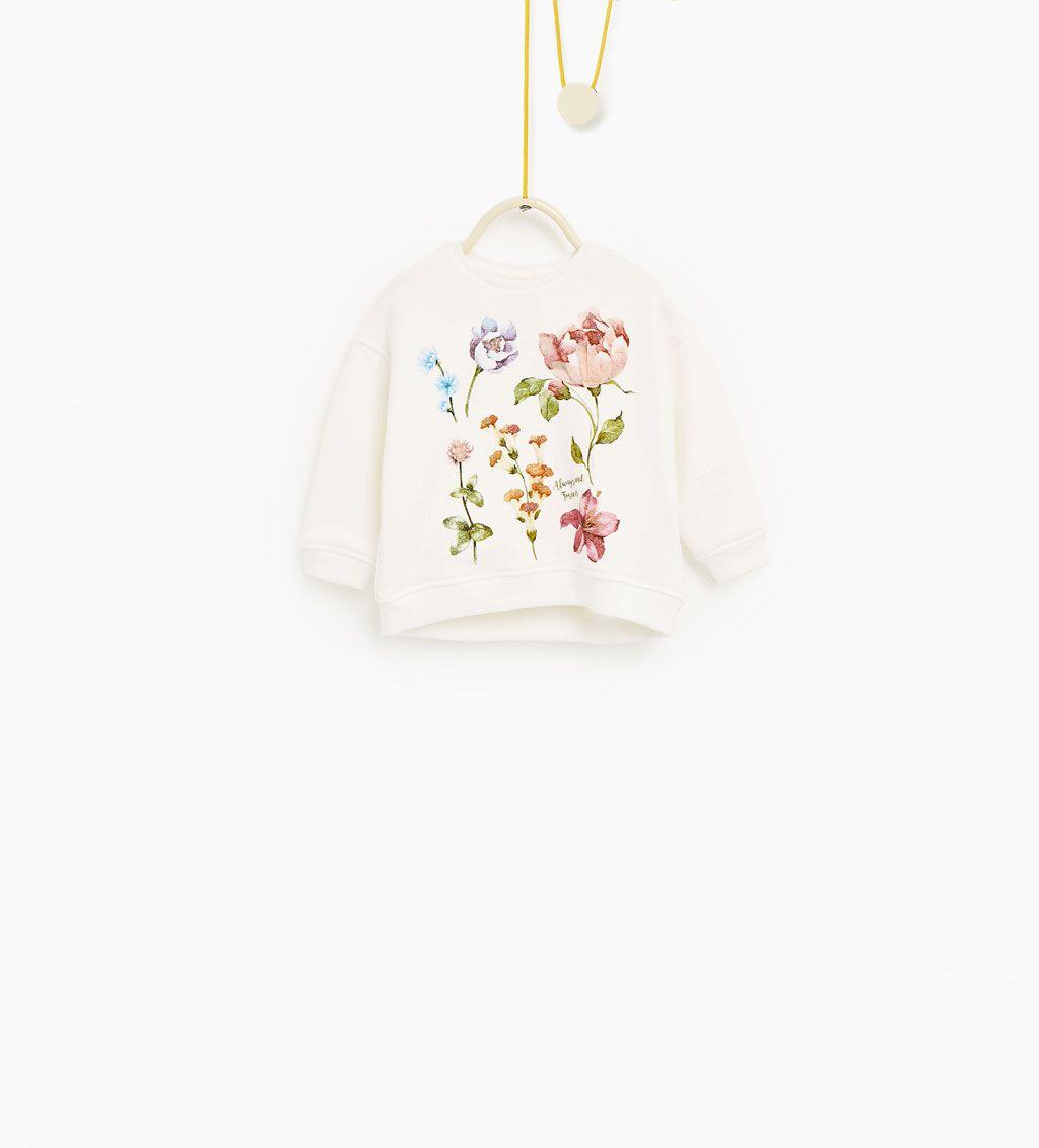 Floral sweatshirt-SWEATSHIRTS-Baby girl-Baby  25f121ad8ff