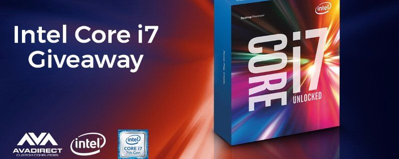 Enter In Daily For Your Chance To Win This Intel Core I7 770k You Can Enter By Tweeting My Vote S With Team Avadirect For The Rig Intel Core Core I7 Intel