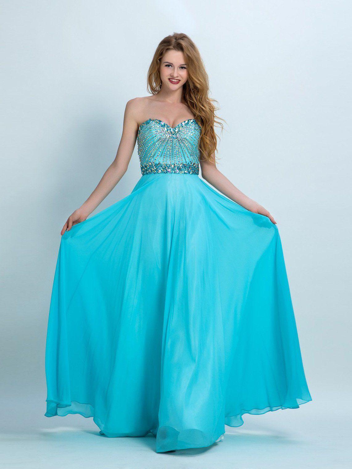 Beautiful prom dresses aline sweetheart floorlength chiffon prom