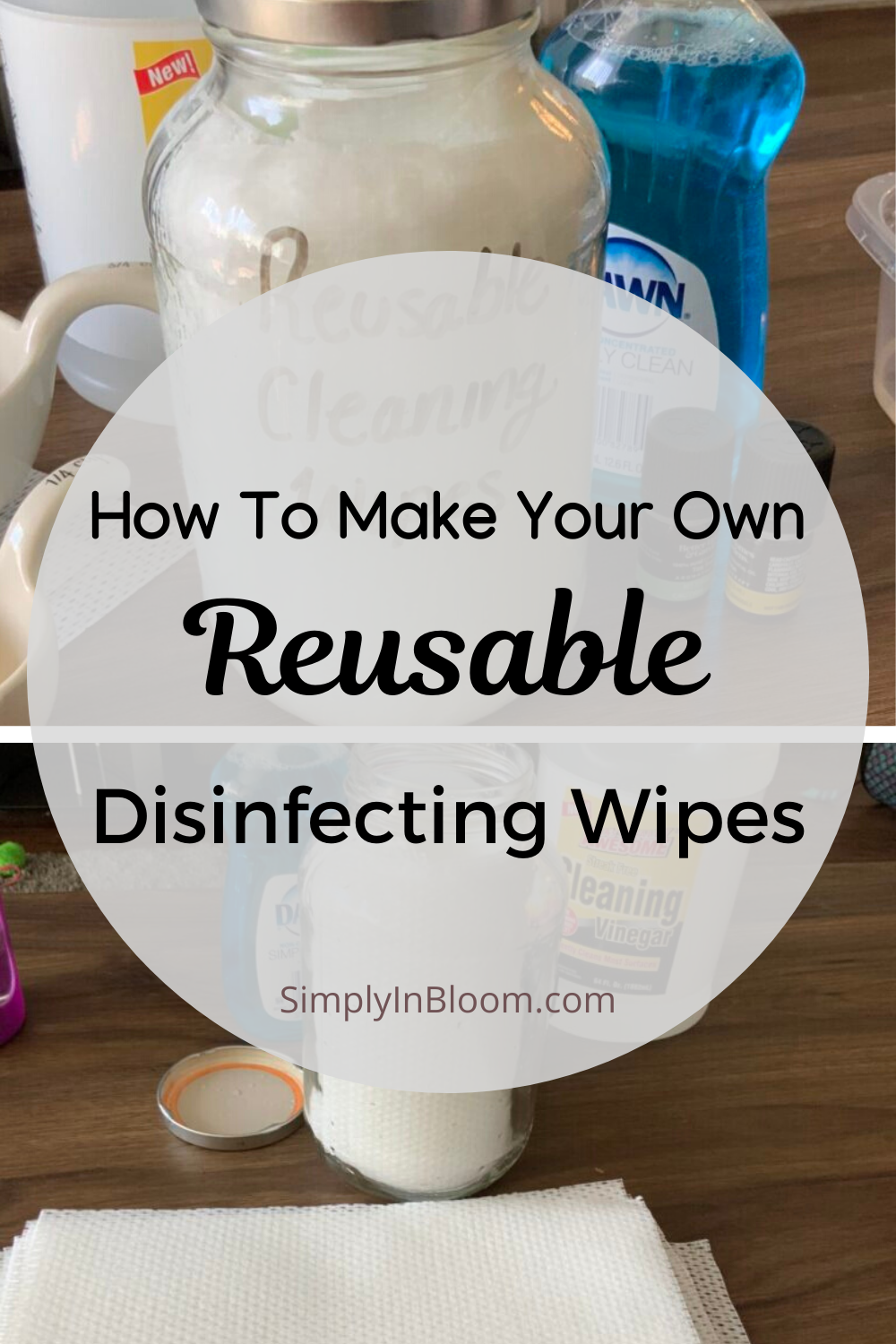 DIY Disinfecting Wipes Recipe Clean Living in 2020 (With