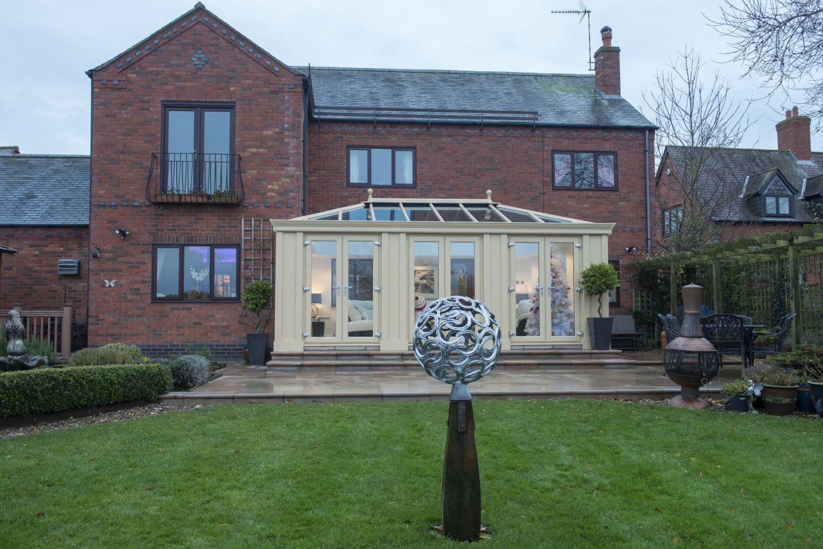 An Ultrframe Loggia Extension Conservatory Design Conservatory Roof Orangery