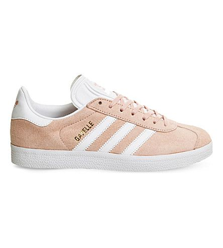ADIDAS Gazelle suede sneakers | Adidas gazelle, Adidas, Pink adidas