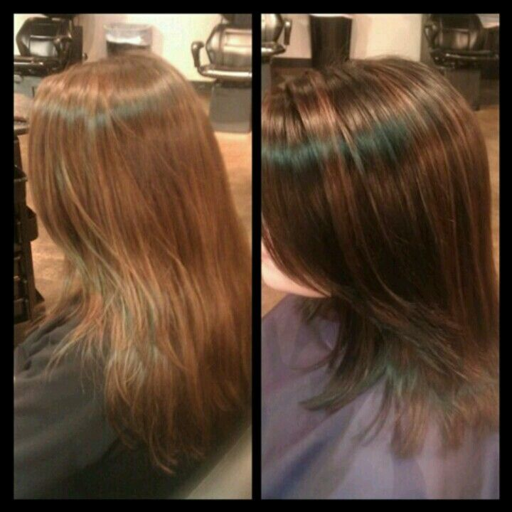 Before After Keune Tinta Level 3 Base With 5 23 Highlights Hair Styles Hair Inspiration Hair Color