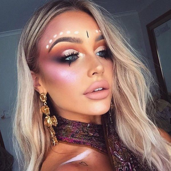 Galaxy Make-up: Der heißeste Schminktrend aus dem Instagram