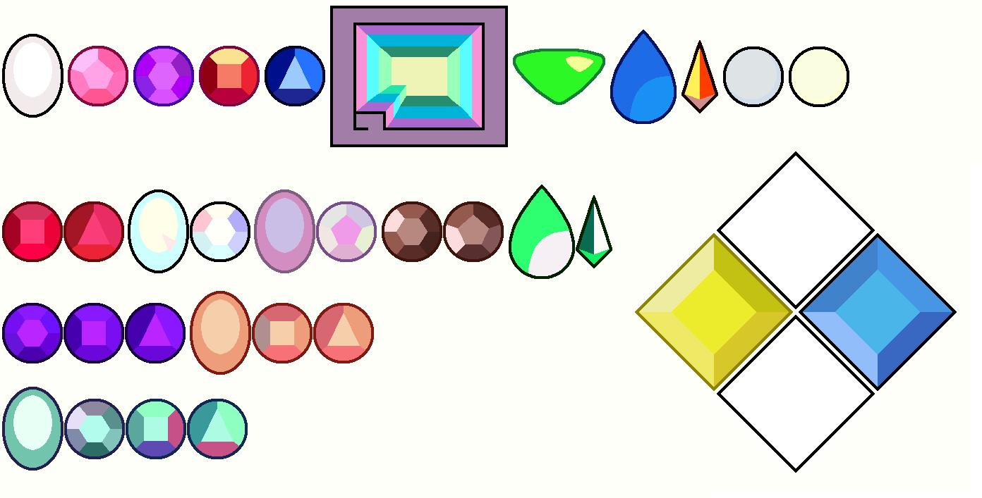steven+universe+gem+design | Steven Universe Crystal Gems ...