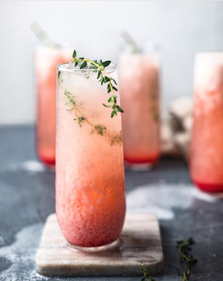Grapefruit Coconut Colada #feedfeed #recipe #coconut #grapefruit Colada #brunch #brunchcocktails #grapefruitcocktail