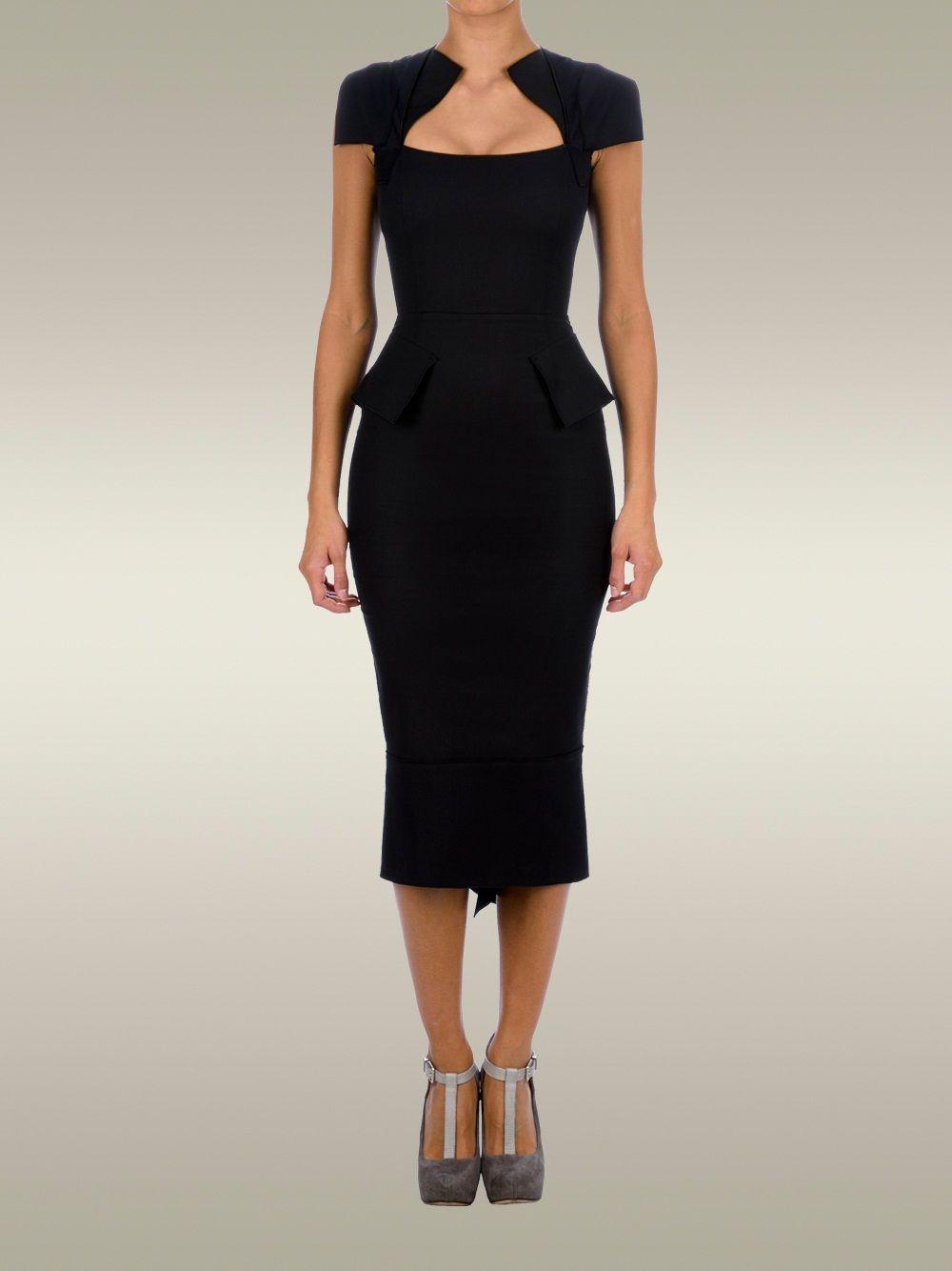 ae76f01dcb7 Women - Roland Mouret Titanium Dress - Roland Mouret