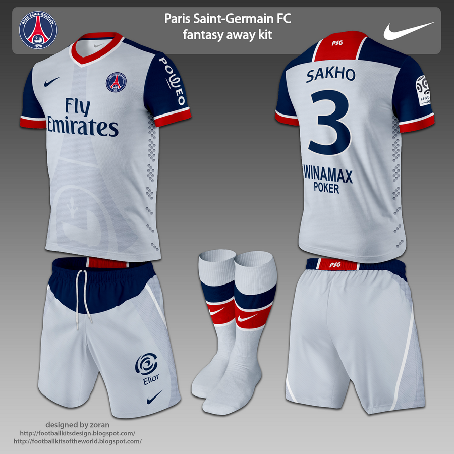 990ea3edda690 Full name  Paris Saint-Germain Football Club City  Paris League  Ligue 1  Stadium  Parc des Princes Founded  1970 Shirt sponsor  Emirates