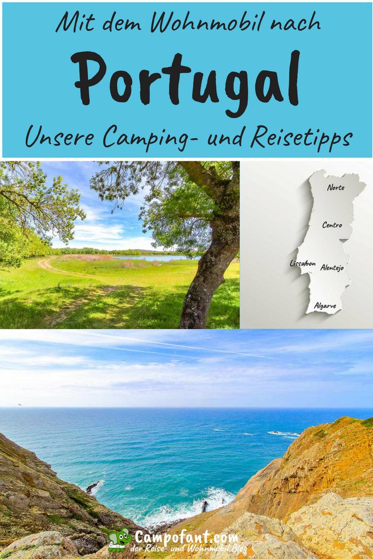 Mit dem Wohnmobil nach Portugal, Camping- und Reisetipps