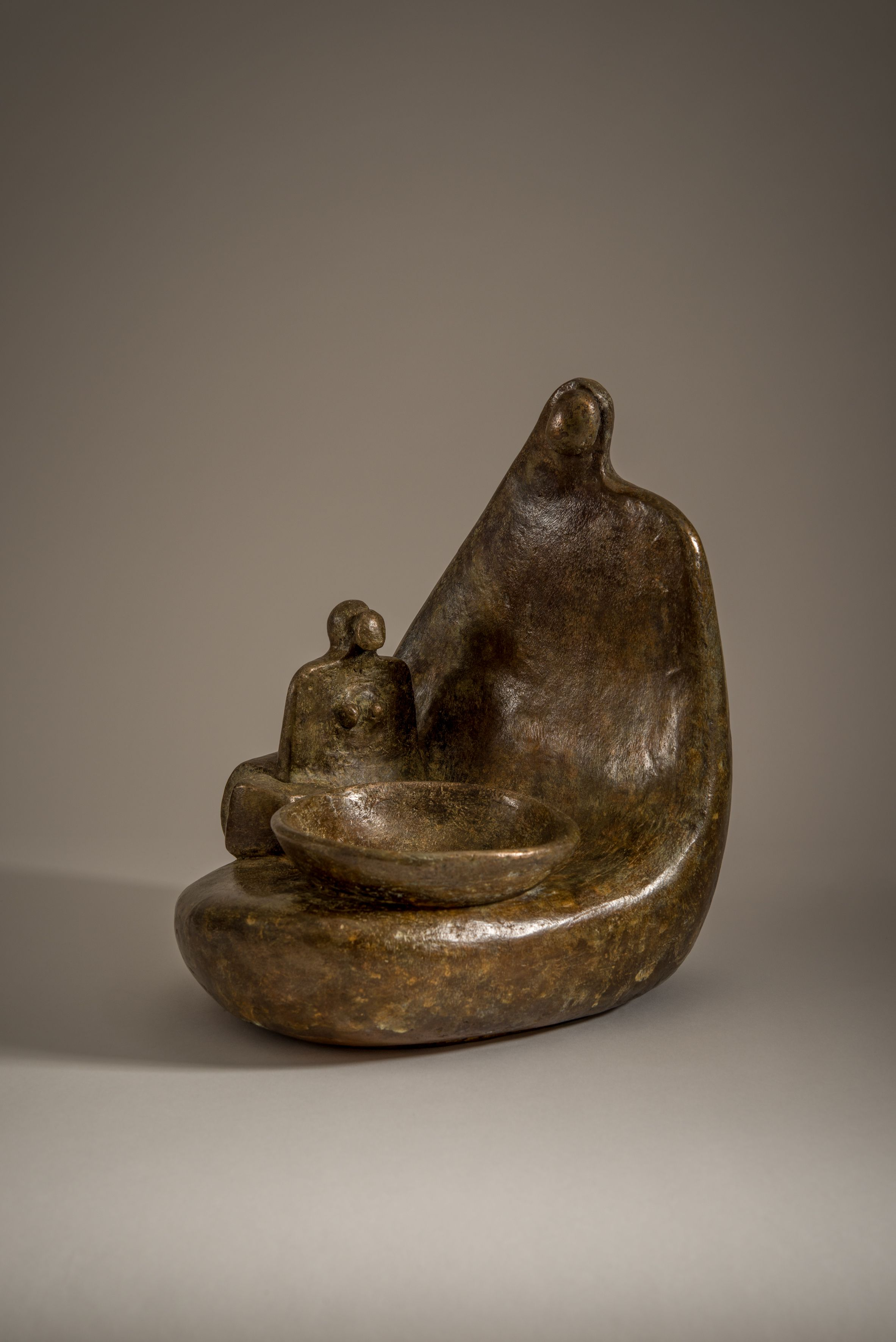Bronze - Mother and Child
