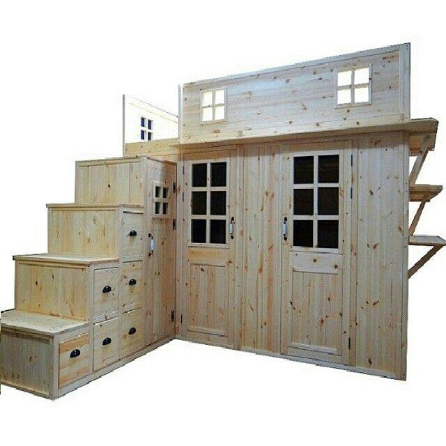 성인용 유아용 벙커침대 수납공간 침대 책상 다용도 www.ilovediy.co ...