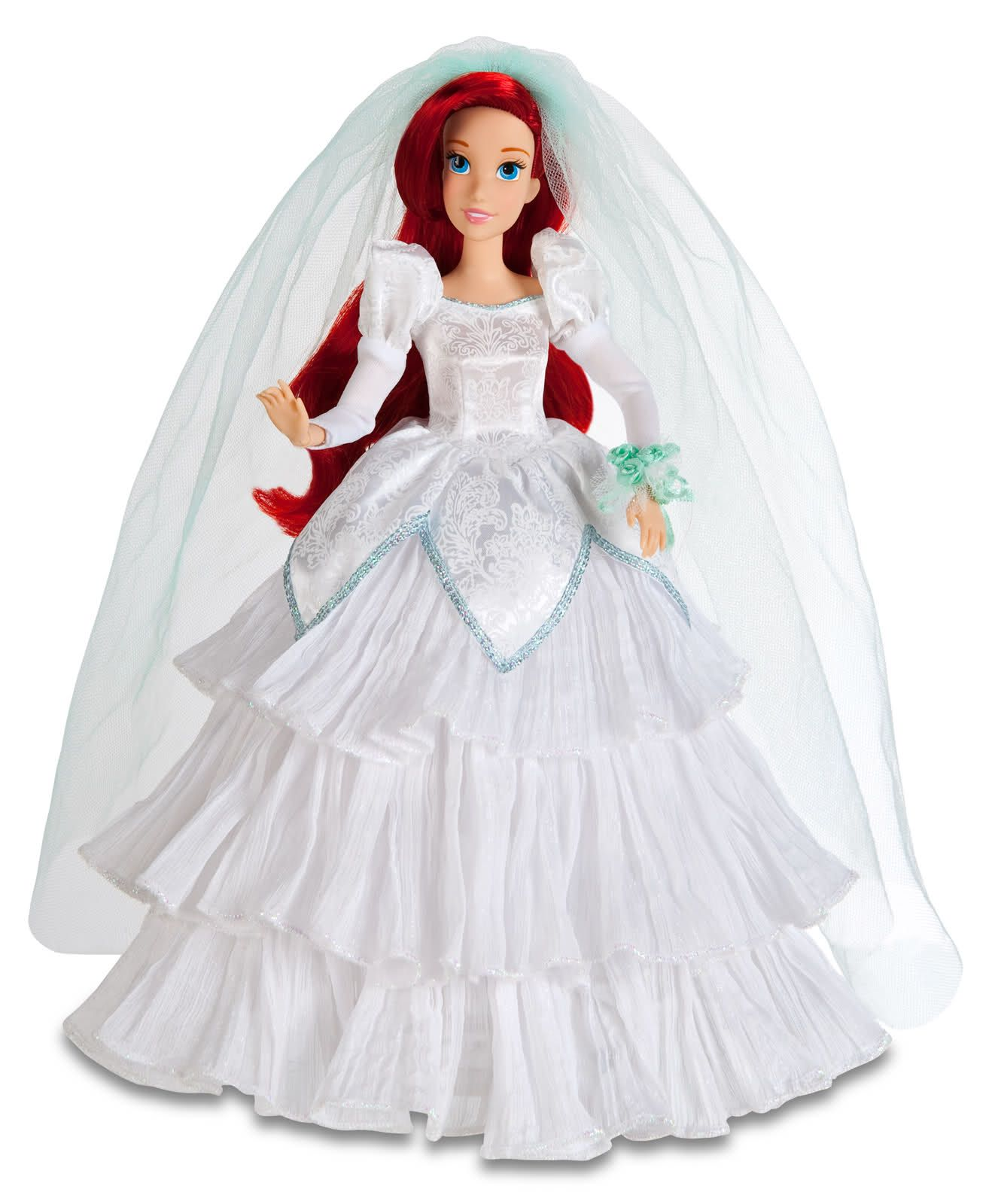 disney ariel wedding dress. disney princesses - once upon a wedding spring 2011: ariel \u0026 cinderella dress