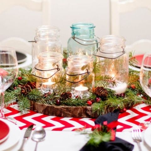 Christmas Centerpieces For Round Tables wedding holiday centerpieces | 50 awesome christmas wedding
