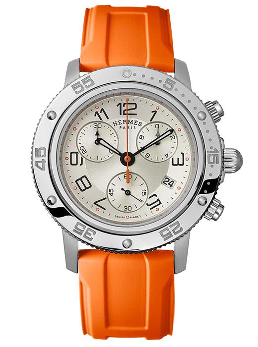 montre femme orange