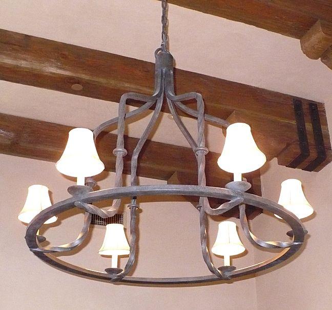 Unique Iron Lighting Wrought Chandelier