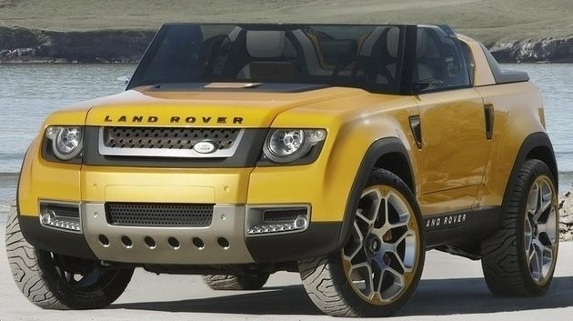 Dc 100 Prototype Trucks Concept Cars Land Rover Car Car