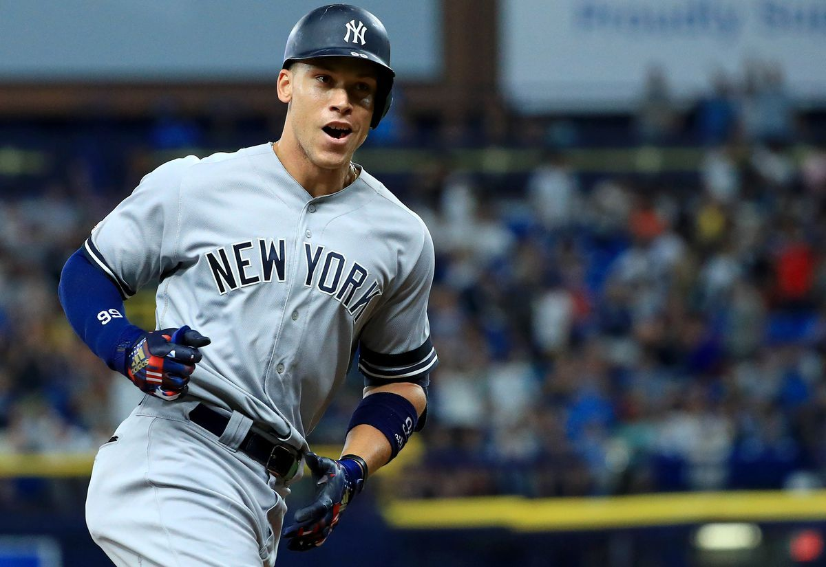 Beating Division Rivals In Regular Season Not Enough For Aaron Judge Who Says Not Until It S October And We V New York Yankees Gary Sanchez Yankees