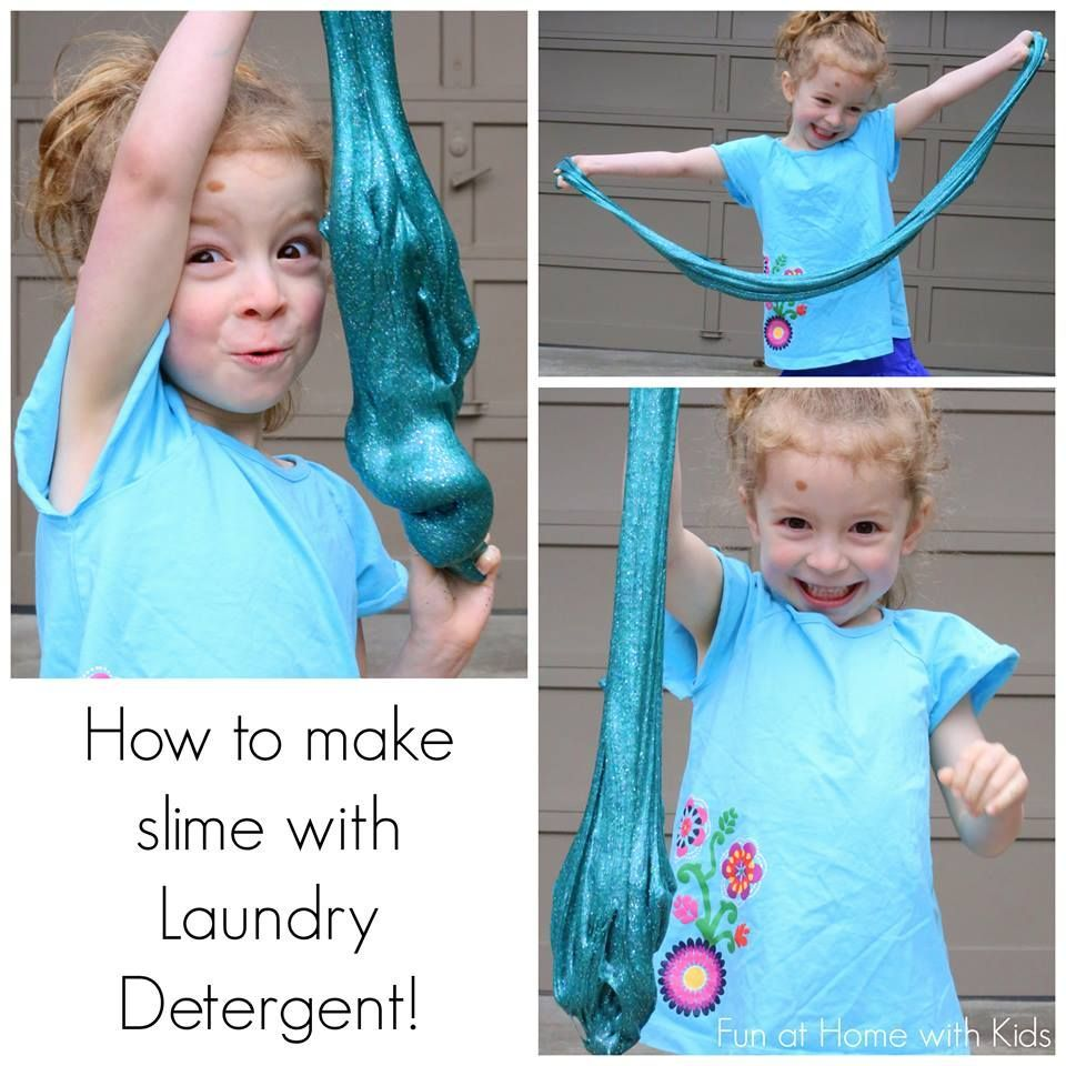 Make Slime With Laundry Detergent (liquid Starch Alternative For Uk)