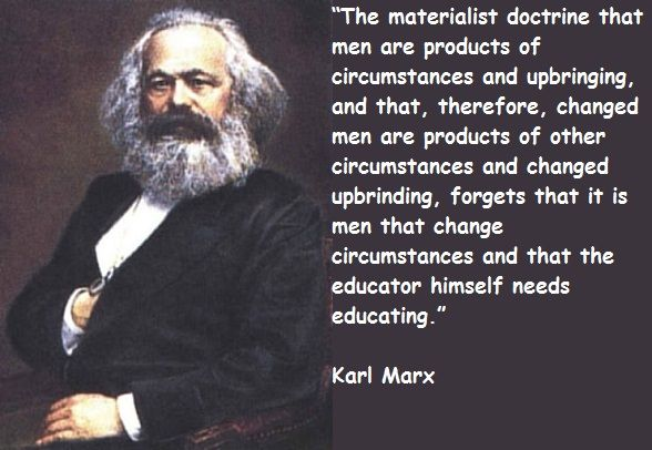 karl marx and exploitation T is well understood that karl marx's model in volume i of capital (in which  the values of goods are proportional- albeit not equal-to the labor embodied.