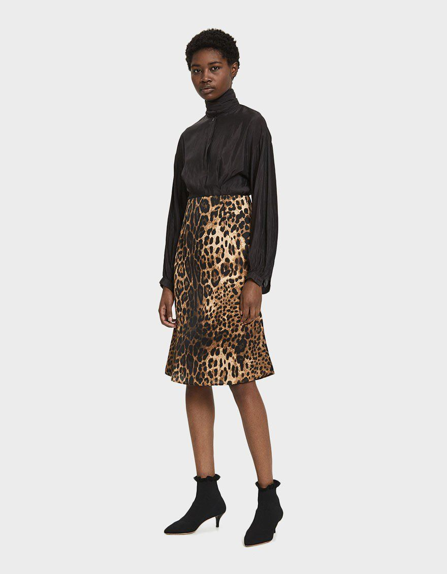 9cd4e1c02bed Love This Silk Leopard Slip Skirt: Farrow Libby Slip Leopard Skirt #leopard  #skirt #slipskirt #silk #newarrivals #trend #animalprint #shopthelook  #wishlist