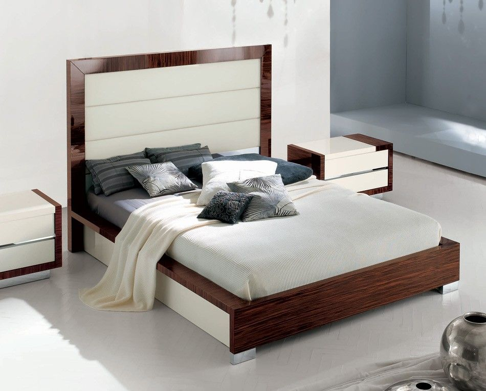 Italian Furniture Stores: Sogno - Alf Italian Leather Bedroom Set