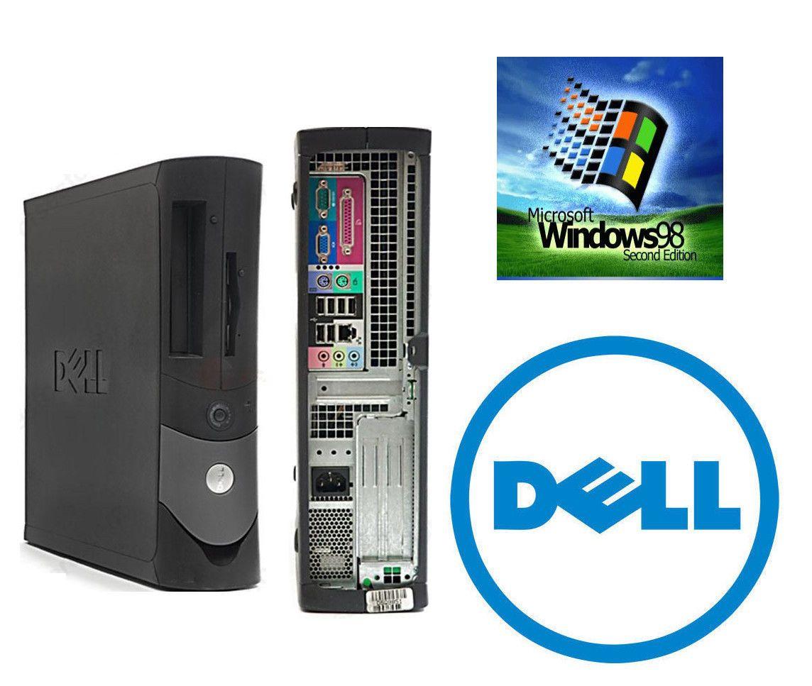 Dell OptiPlex GX270 2 8GHZ 80GB Windows 98SE/DOS Gaming Desktop