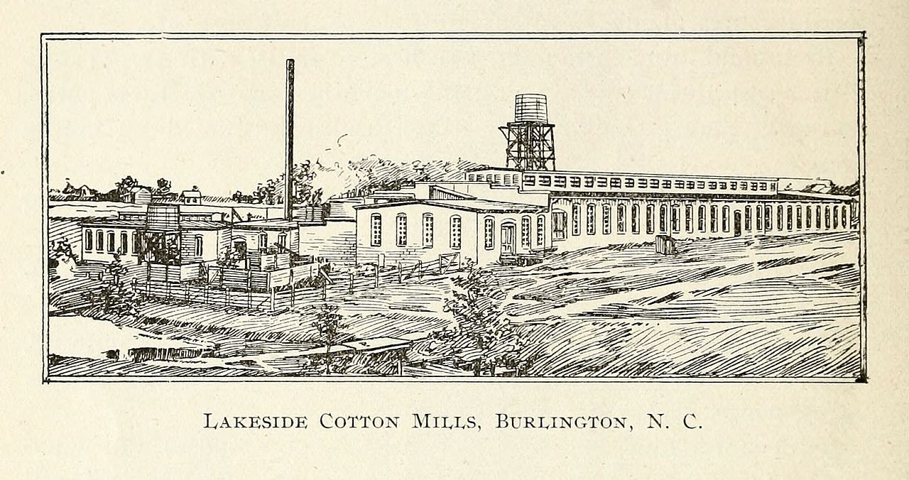 oneida cotton mills and scott mebane manufacturing company complex