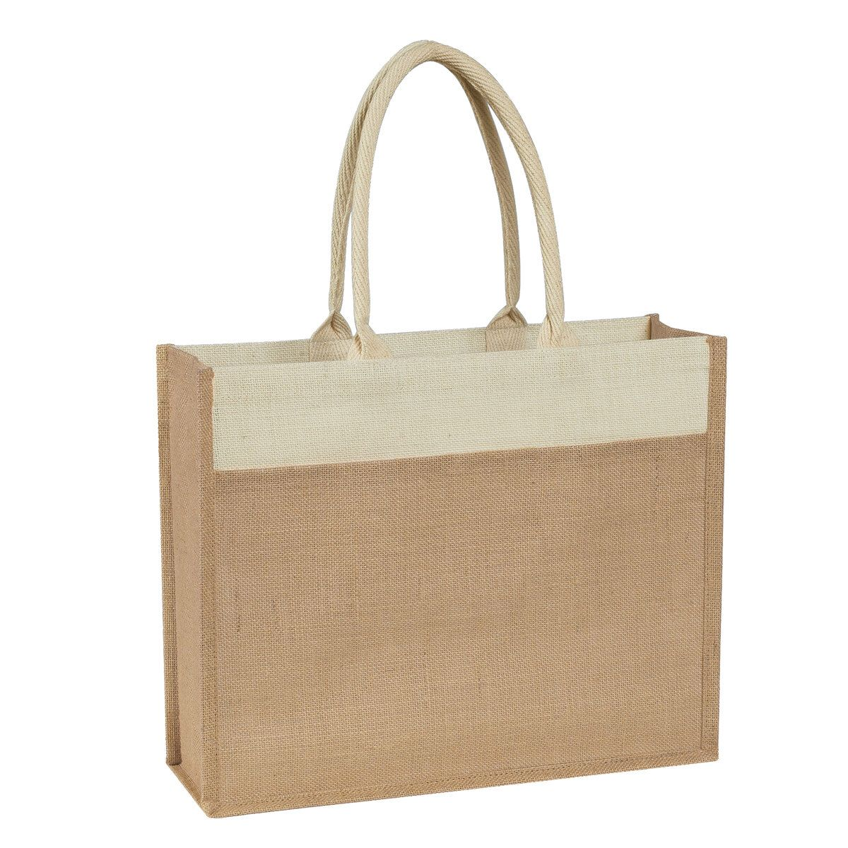 100 Natural Jute Tote Bags, Pure Natural Jute Bags, Wholesale Bags ...