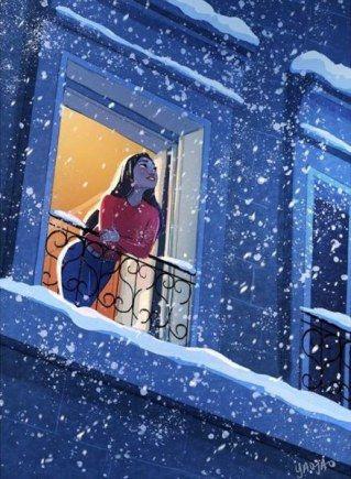 Photo of Von Einsamkeit keine Spur: Illustrationen zeigen die schönen Seiten des Alleinseins