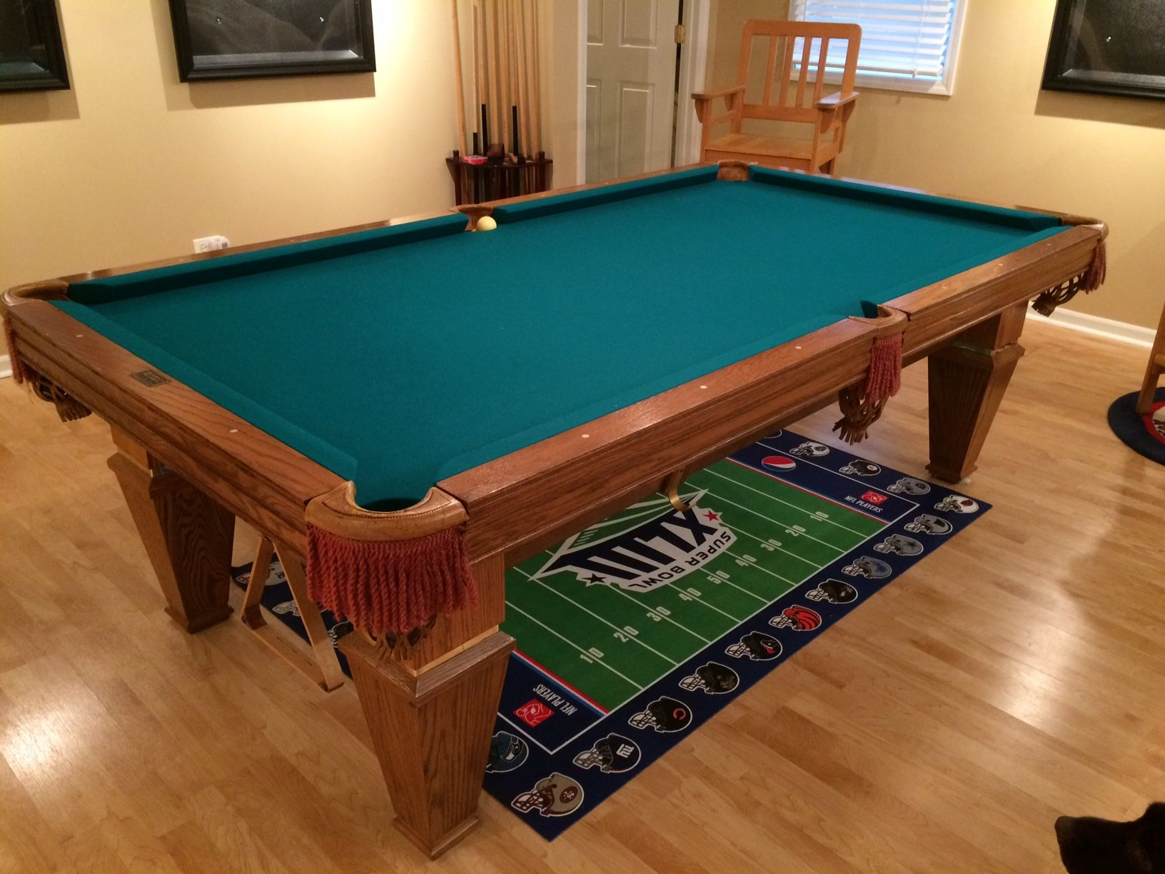 Brunswick Billiards Citidel Pool Table 8' Diy pool table