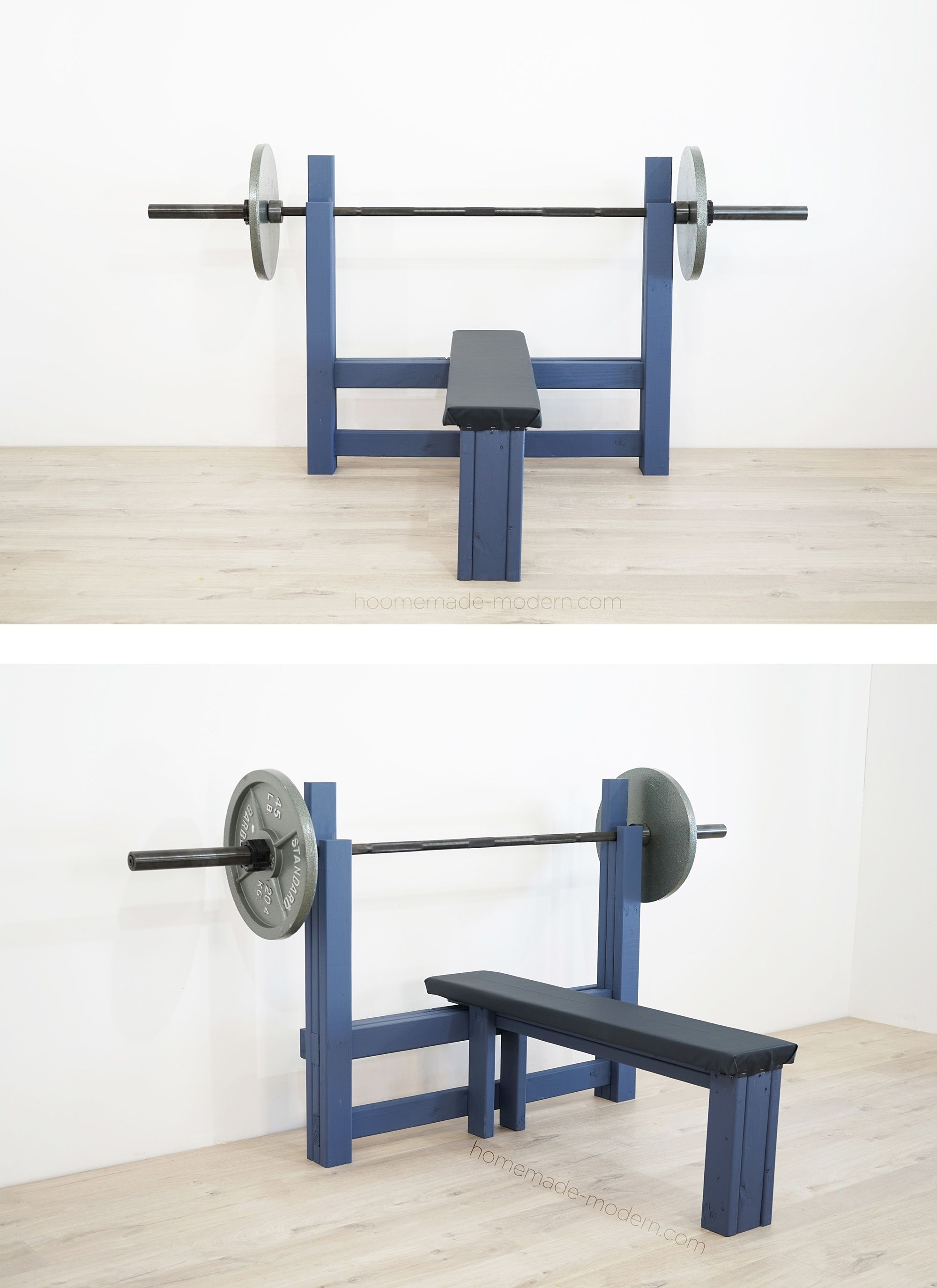 Learn how to build your own bench press! Diy wood bench
