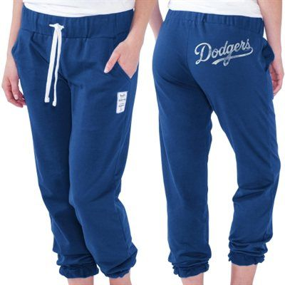 Touch by Alyssa Milano L.A. Dodgers Women's Training Camp Track Pants – Royal Blue