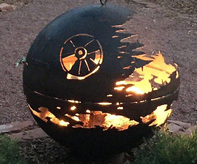 Star Wars Death Star Fire Pit War Star Wars And Fire Pits