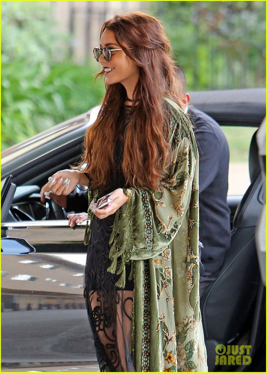 Full Sized Photo of vanessa hudgens hipster chic style at hair ...