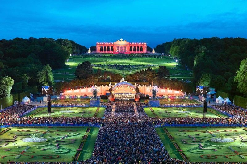 Sommernachtskonzert Der Wiener Philharmoniker Konzert Schonbrunn Wiener Philharmoniker