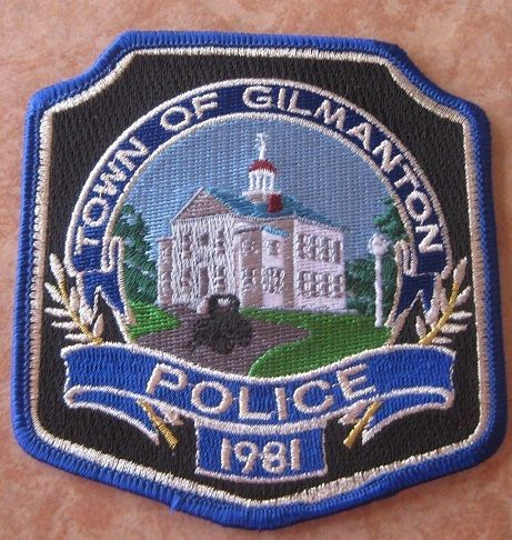 Gilmanton Pd Nh Police Badge Fire Badge Police Patches