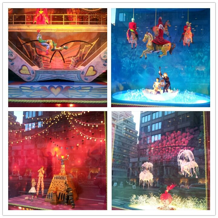 Bloomingdales Window Decoration: Theme Cirque Du Soleil