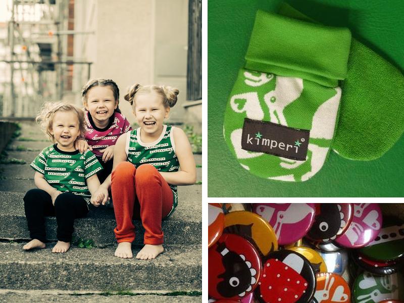 Kimperi #vihreä #green #lastenvaatteet #kidsfashion #finnishdesign #madeinfinland
