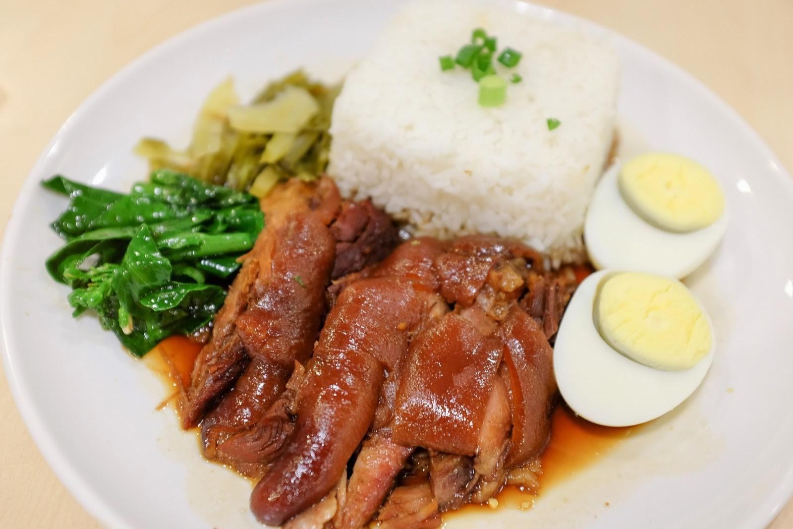 Braised pork rice food eat braised pork