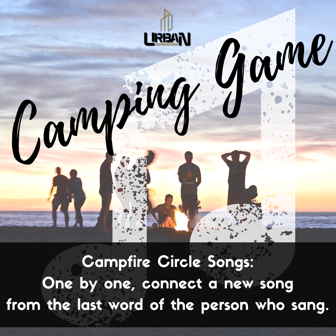 Camping game idea 101🏕️   Campfire circle songs - One by one