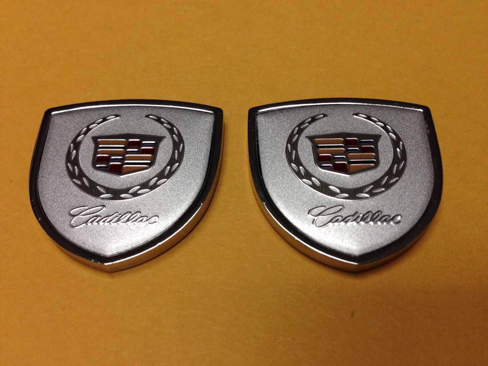 Set of 2 Black Gloss on Matte 3D 3M Adhesive Badge for Car or Truck American Flag Emblem Decal Cut-Out