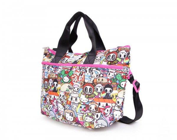 2bed6433e107 tokidoki x Hello Kitty Buffet Nylon Crossbody