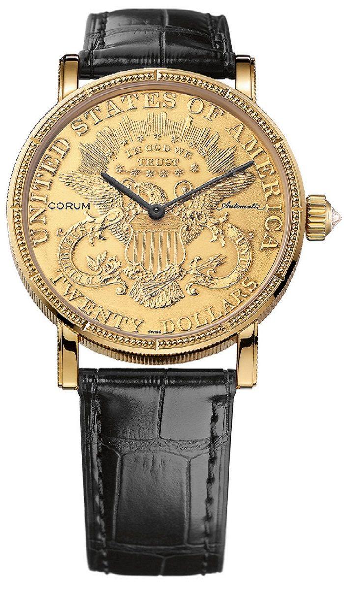 Đồng hồ Corum Coin Watch $20 giá trên 500 triệu VNĐ