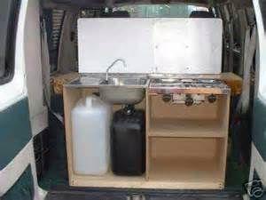 furniture vans camping