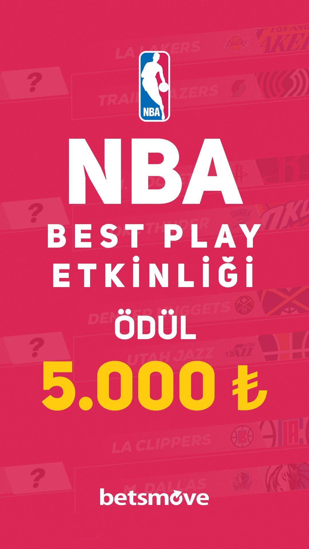 Nba Best Play Etkinligi Odul 5 000tl 2020 Nba