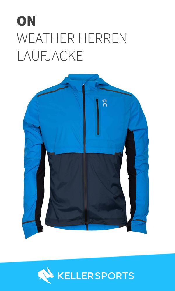 ON Weather Herren Laufjacke blau | Keller | RUNNING | Jacken