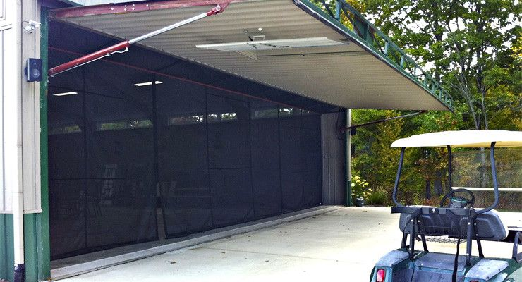 garage screen doorsgarage door screen  projectscreened porch  Pinterest  Garage